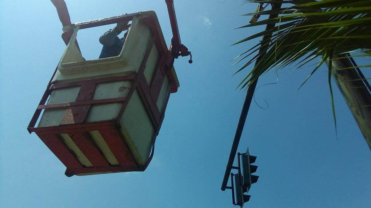 กล้อง CCTV ,กล้อง IP Camera ,งานกล้องวงจรปิดเทศบาลสามพราน